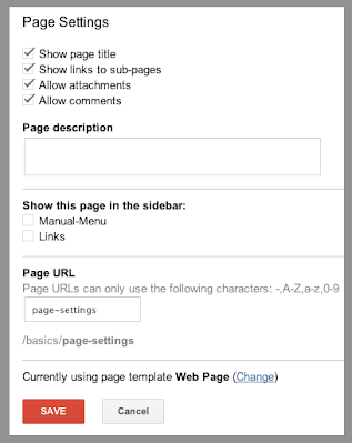G-Sites-Pages-Settings image