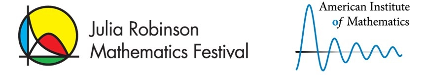 Julia Robinson Mathematics Festival Banner